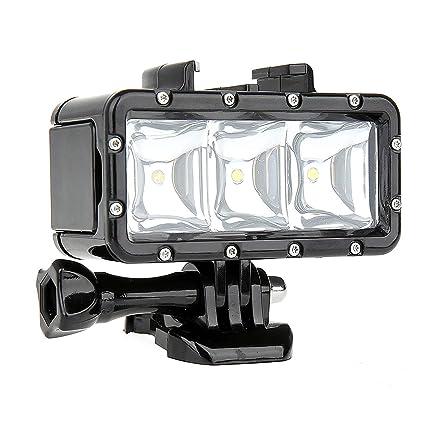 Analytical Waterproof Diving Led Video Spot Light Lamp 30m Underwater Light Mount Buckle Screw Strape Kit For Gopro Hero 4 3 3 Quality Lights & Lighting