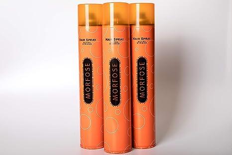 Morfose Haarspray Ultra Strong 3 x 400ml
