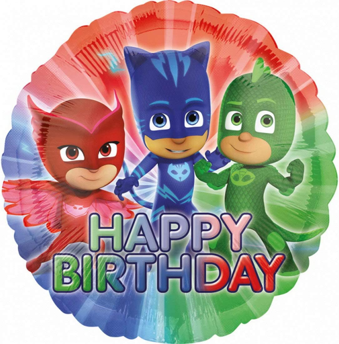 balloonisima – Globo XL – Happy Birthday PJ Masks Diseño ...
