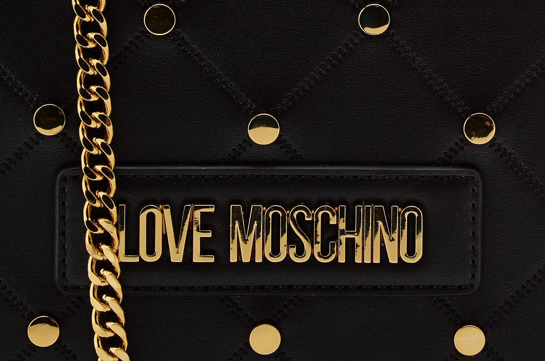 Love Moschino dam Jc4094pp1a axelväska Svart (nero)
