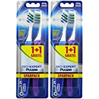 Oral -B Pro Expert Vibrating Toothbrush - 4 Pack ( Color Assorted )