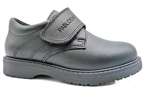 Pablosky Zapato Colegial Negro 704110-26