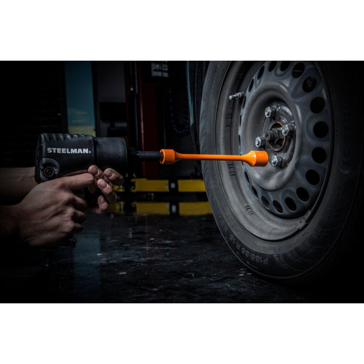 Steelman 50063 1//2-Inch Drive x 21mm 80 ft-lb Torque Stick Orange