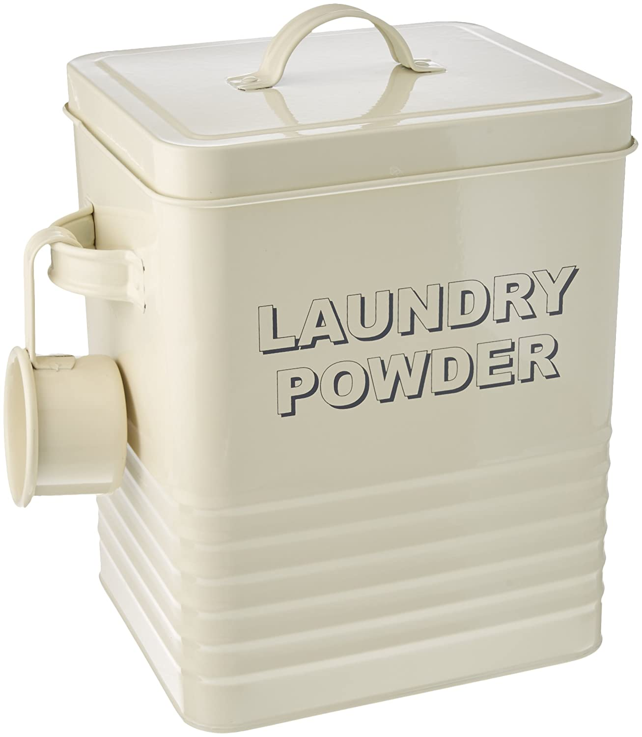 Lesser and Pavey 23 cm Home Sweet Home Laundry Powder Box, Cream Lesser & Pavey LP22215