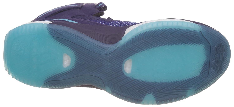 ce84861264e ... switzerland adidas mens d rose 6 boost primeknit purple and bright blue  basketball shoes 6 uk