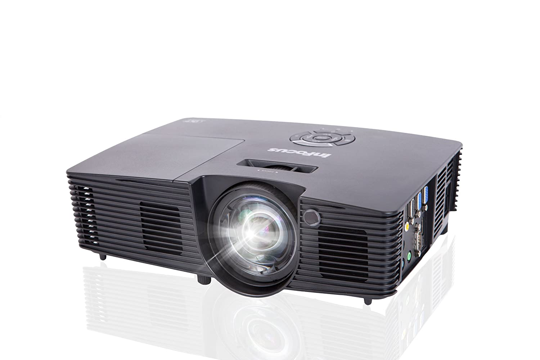 Infocus IN114v Video - Proyector (3500 lúmenes ANSI, DLP, XGA ...
