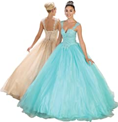 99c0bc358ee Layla K LK99 Masquerade Quinceanera Ball Gown