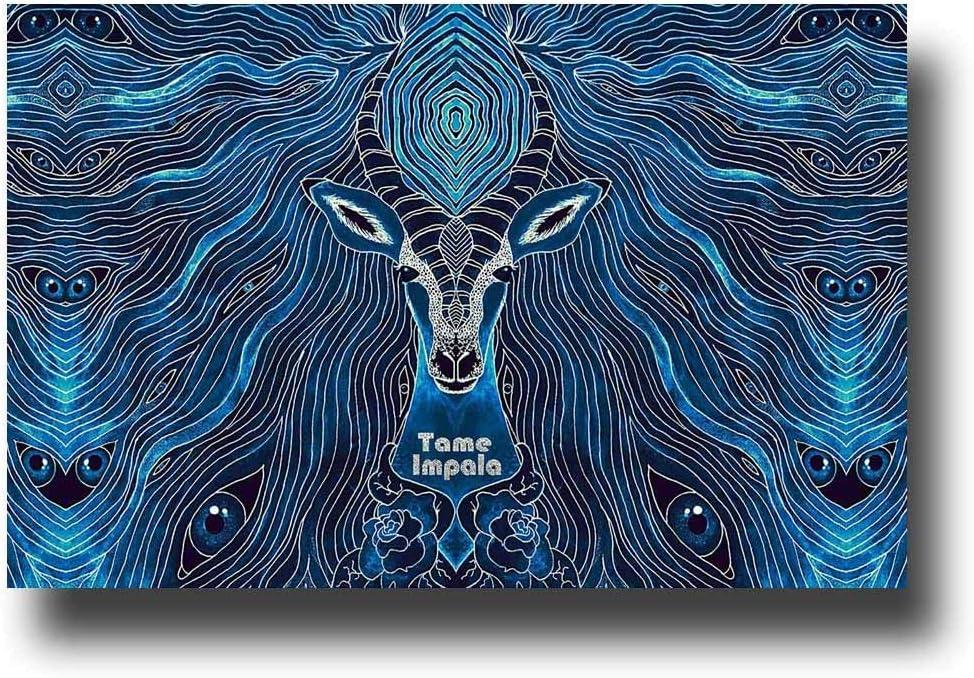 "Kopoo Music Poster Tame Impala Poster, 16"" x 24"" (40 x 60 cm)"