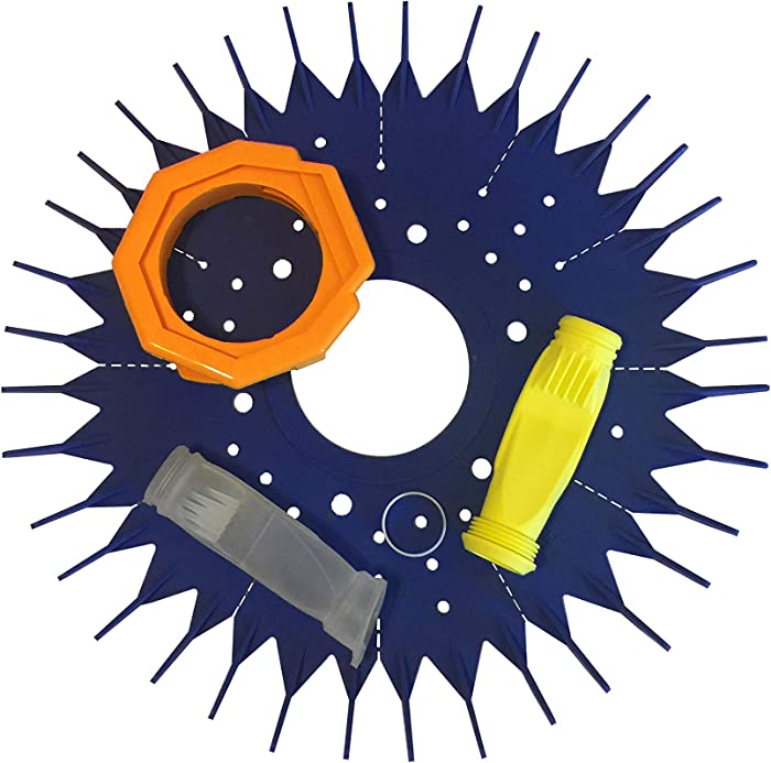 Fibropool Zodiac Baracuda Seal, Foot Pad, Diaphragm Replacement Kit for G2 G3 G4