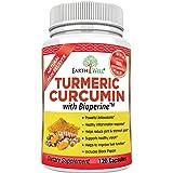 EarthWell Turmeric Curcumin Extract Anti-inflammatory Supplement, 650mg (120 Capsules)