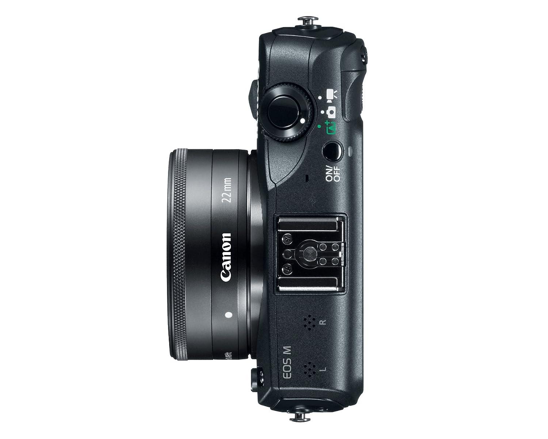 Amazon.com : Canon EOS M 18.0 MP Compact Systems Camera with 3.0 ...