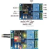 NJPOWER WIFI Relay Module ESP8266 IOT APP Controller 2-Channel For Smart Home 5V Drop Ship
