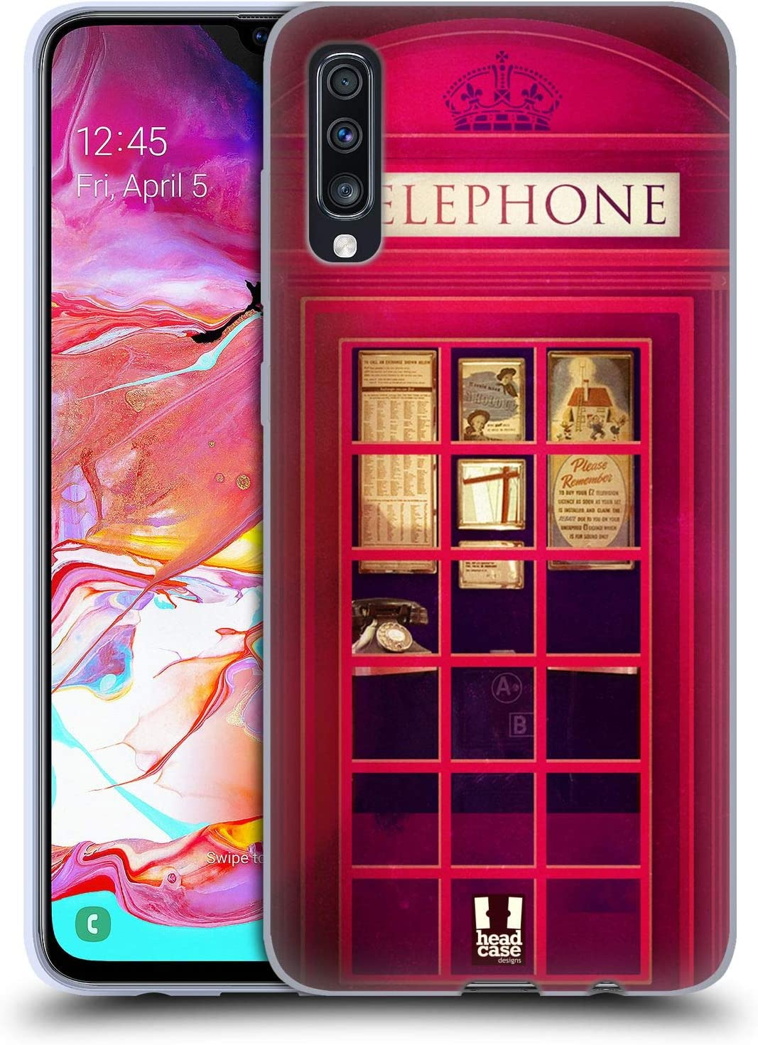Head Case Designs K2 Telephone Box Soft Gel Case Compatible for ...