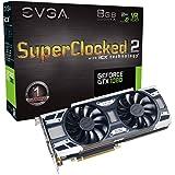 EVGA GeForce GTX 1080 SC2 Gaming, 8 GB GDDR5X, tecnología iCX - 9 sensores térmicos y LED RGB G / P / M, Ventilador Asynch, optimizada para diseño de Flujo de Aire, Tarjeta gráfica 08G-P4-6583-KR