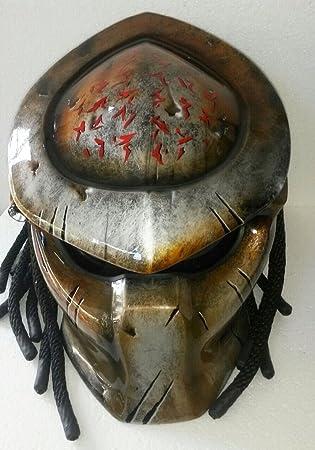 Casco Alien, Predator casco, casco de moto - traje (hecho a mano)