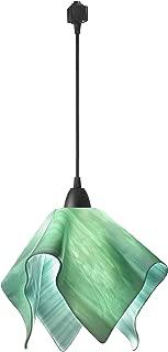 product image for Jezebel Radiance JRBL-FP16-SEA-TRBL Black Flame Track Light, Large, Seafoam Green