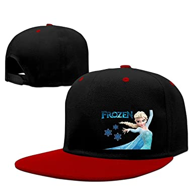 Amazon.com  YLSD Elsa White Ice Baseball Adjustable Hip Pop Cap Fitted Hats  Unisex 3ae8c4c34983
