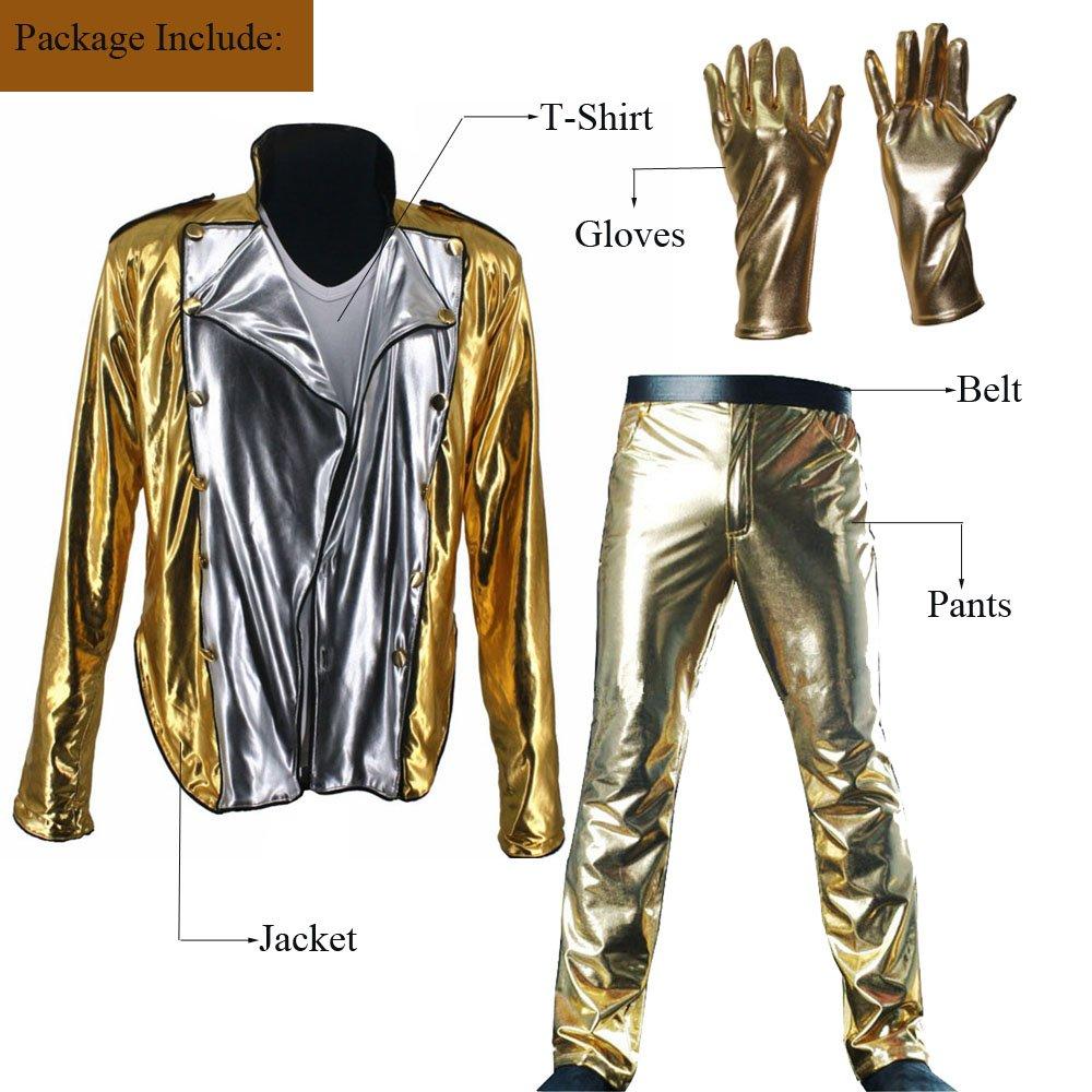 Amazon.com: Michael Jackson historia Bad dorado Spandex ...