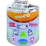 Aladine - 03705 - Tampons À Imprimer - Stampo Scrap - Naissance