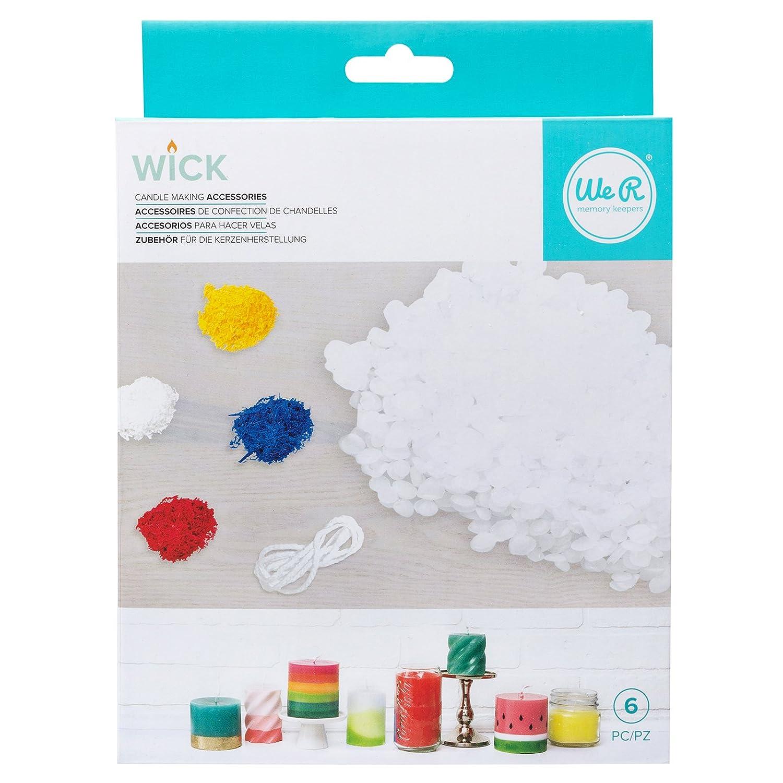 We R Memory Keepers 660477 Wick Bundle Wax Kit, Multicolor American Crafts