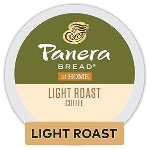 Panera Light Roast, Single-Serve Coffee K-Cup Pods, 100% Arabica Coffee, 72 Count