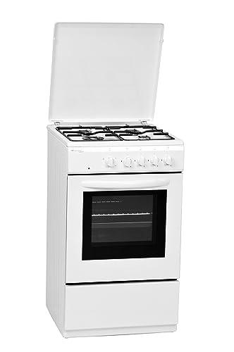 Bompani BI505FE/I Piano cottura Gas Bianco cucina: Amazon.it ...