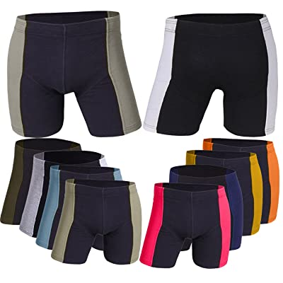 Godsen Men's 10 Pack Comfort Soft Boxer Briefs Tighty Whities at Men's Clothing store