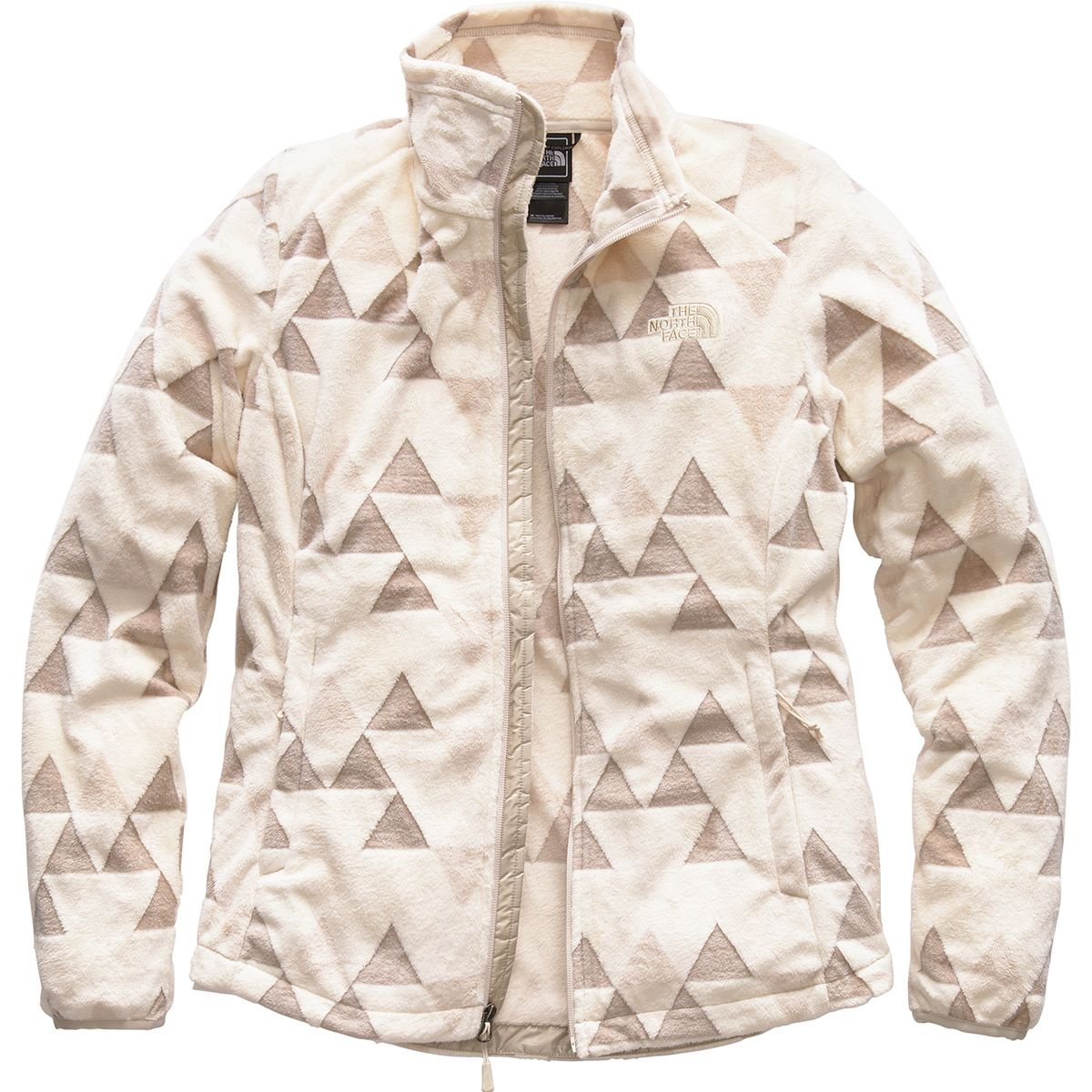 (ザノースフェイス) The North Face Novelty Osito Jacket レディース ジャケットVintage White/Peyote Beige Tnf Tossed Logo Print [並行輸入品]   B07F9X5YCG