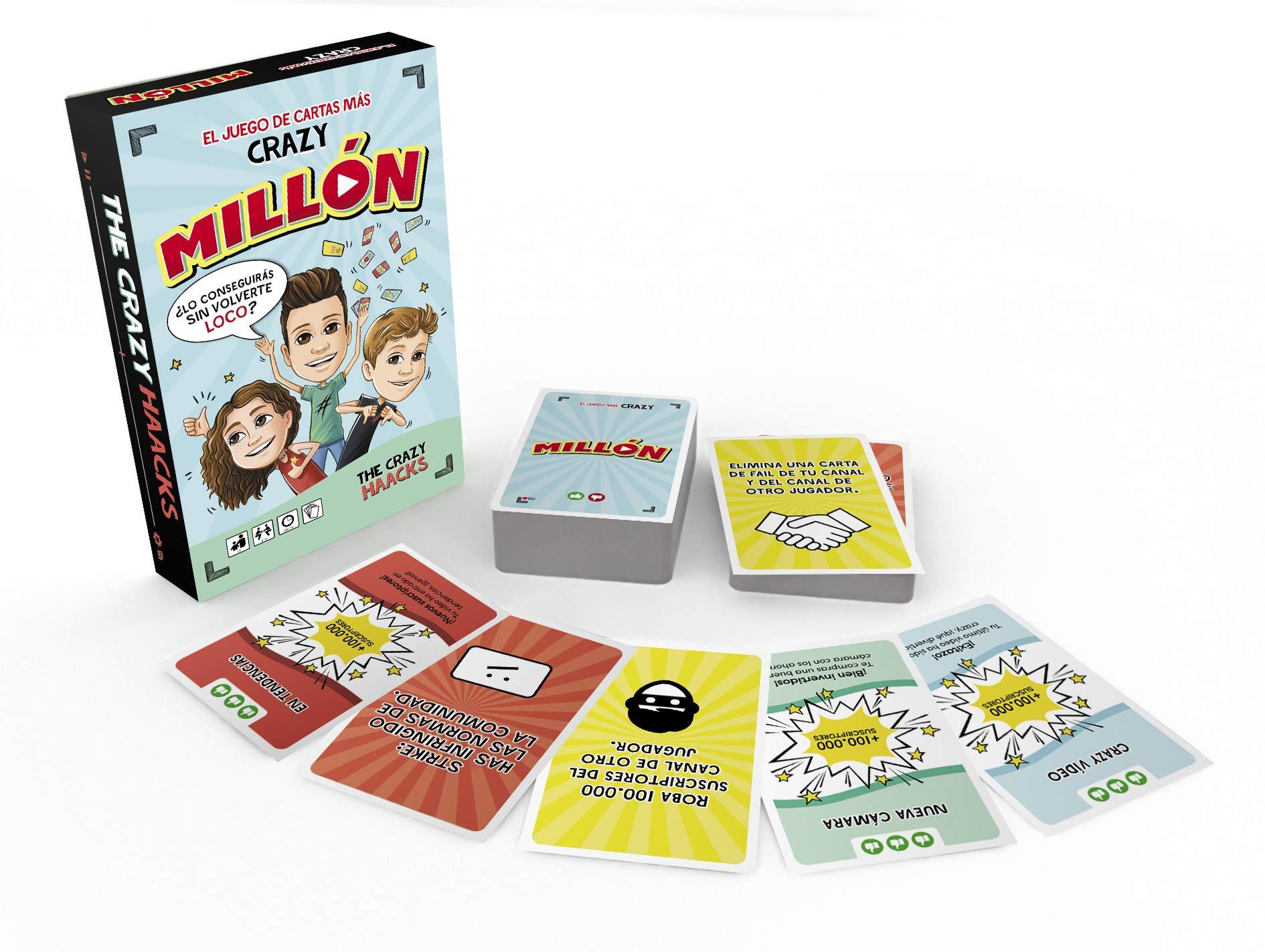 MILLÓN. El juego más Crazy (Serie The Crazy Haacks): Amazon.es: The Crazy Haacks: Libros