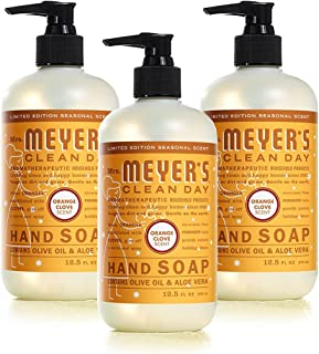 product image for Mrs. Meyers Clean Day Liquid Hand Soap - Orange Clove, 12.50-Ounce (Pack of 3)