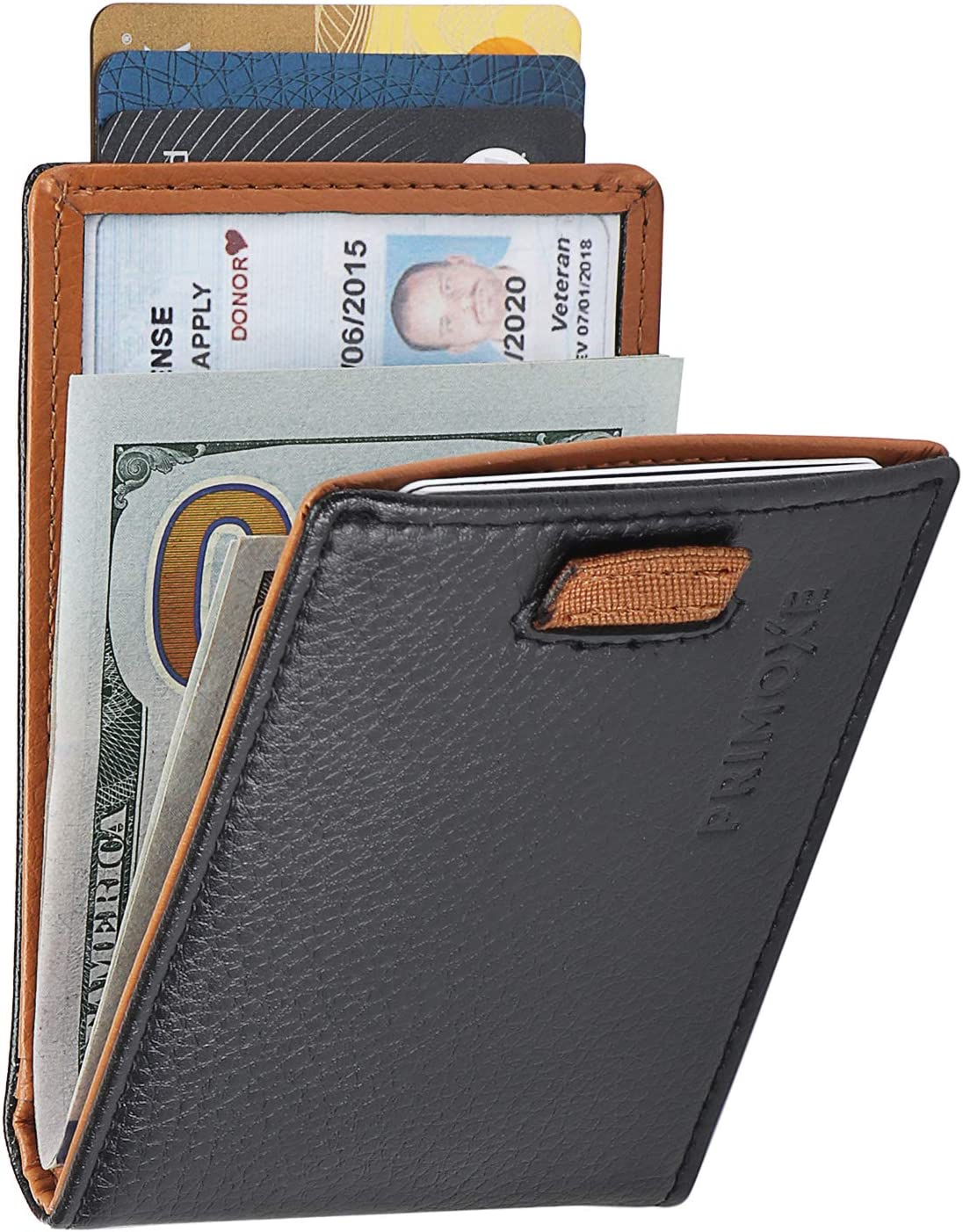 Minimalist Money Card Holder Long wallet Men/'s simple stylish wallet