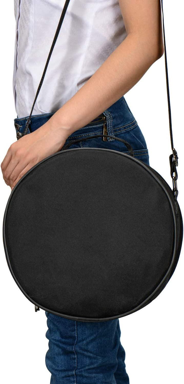 instrumento de percusi/ón Tambor de acero de 13 notas de 12 pulgadas tambor de mano de loto con mazo de tambor bolsa de transporte