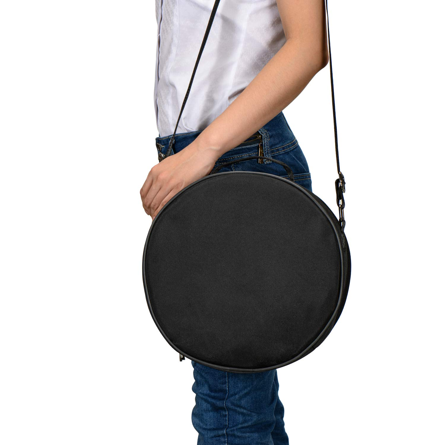 12 Inch 13 Note Steel Tongue Drum Percussion Instrument Lotus Hand Pan Drum with Drum Mallets Carry Bag by Rakumi (Image #6)