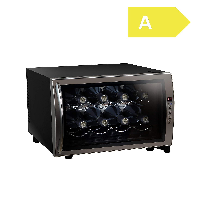 Acopino BC25F Weink/ühlschrank /• thermoelektrisch /• Getr/änkek/ühlschrank /• Minibar /• 8 Weinflaschen