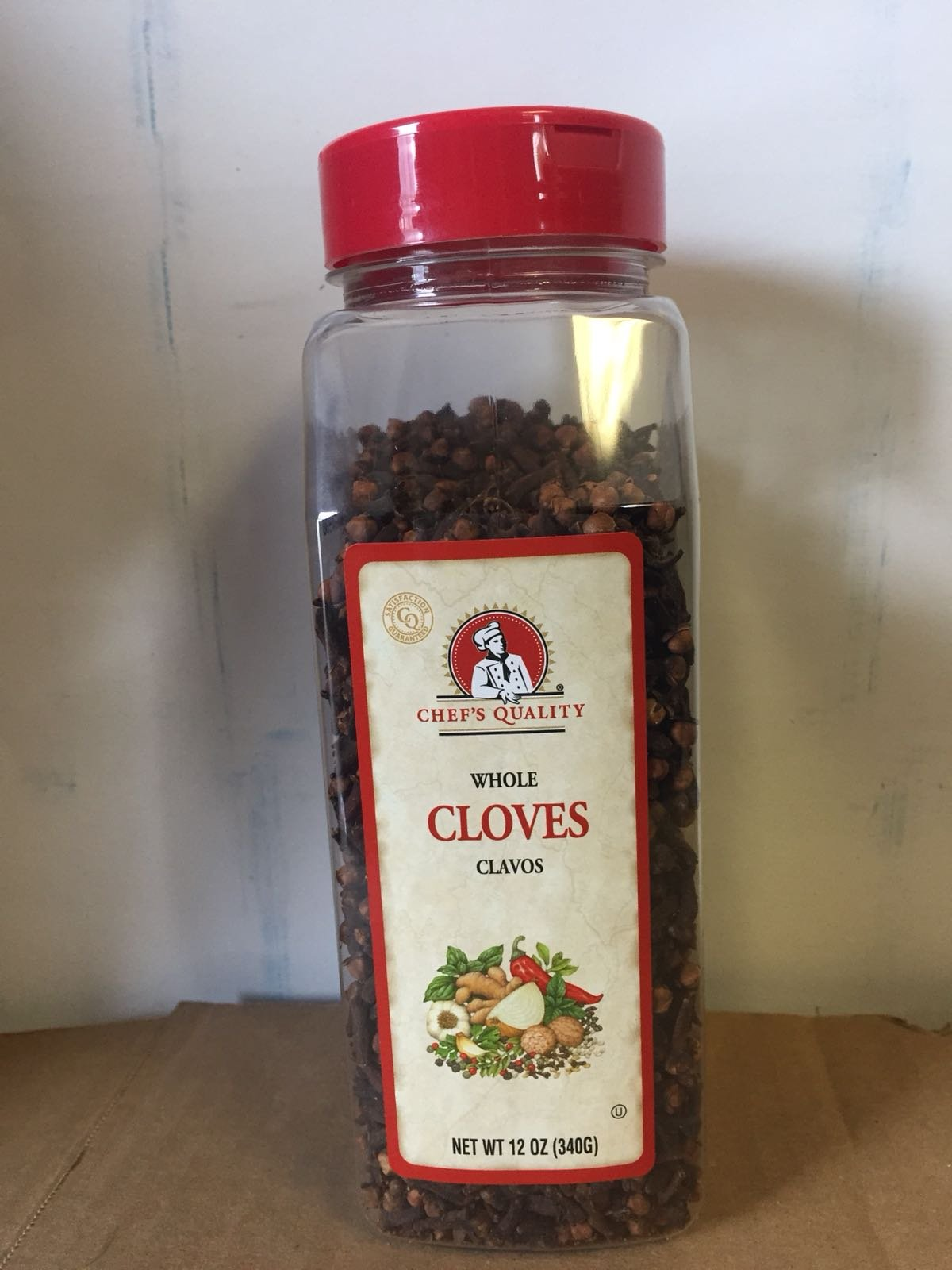 Chef's Quality Whole Cloves, 12 Ounce