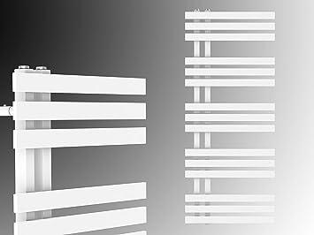 Diseño baño Radiador VERONA Blanco 1000 x 500 mm.calentador toallas: Amazon.es: Bricolaje y herramientas