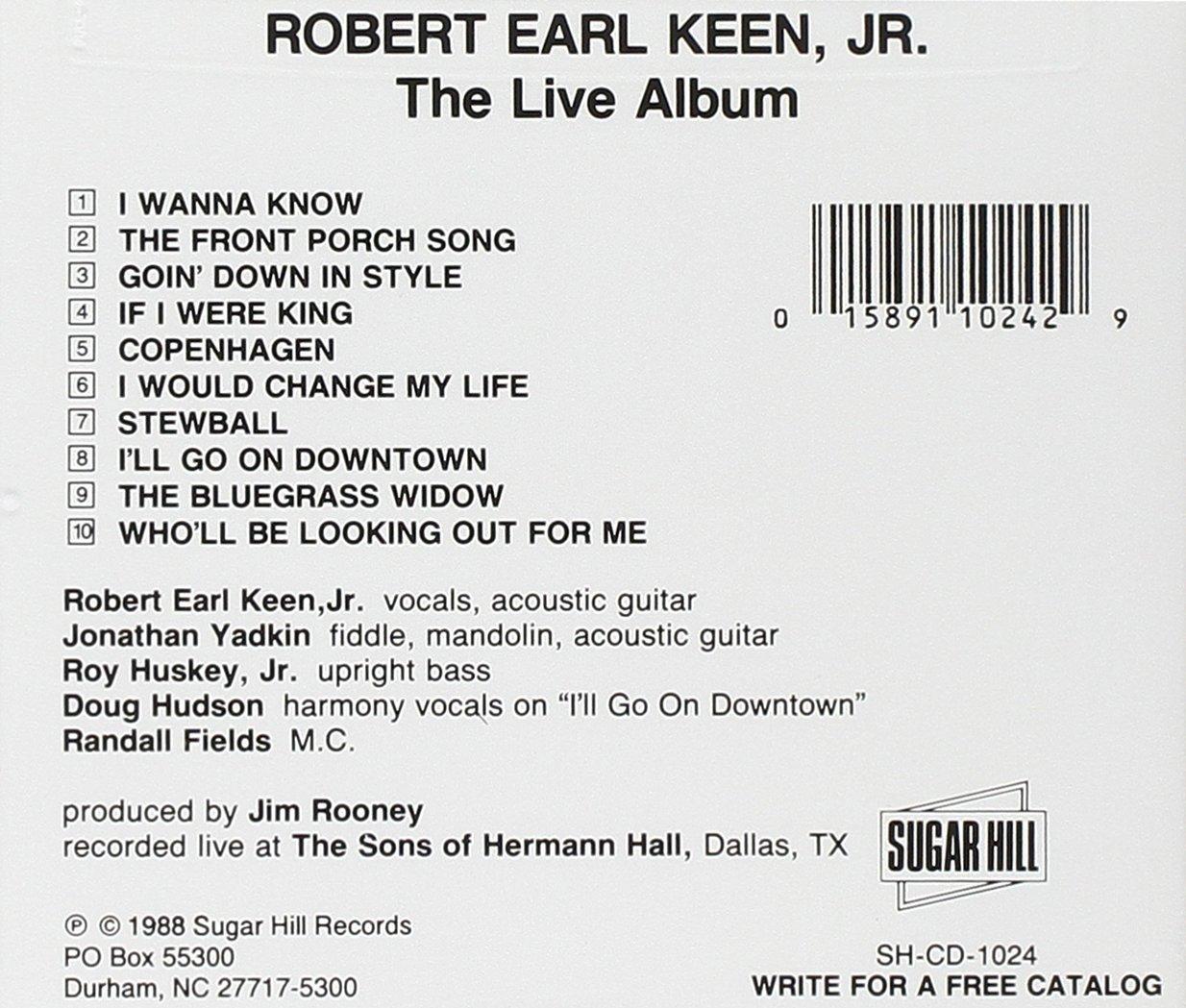 Robert Earl Keen Jr. - The Live Album - Amazon.com Music