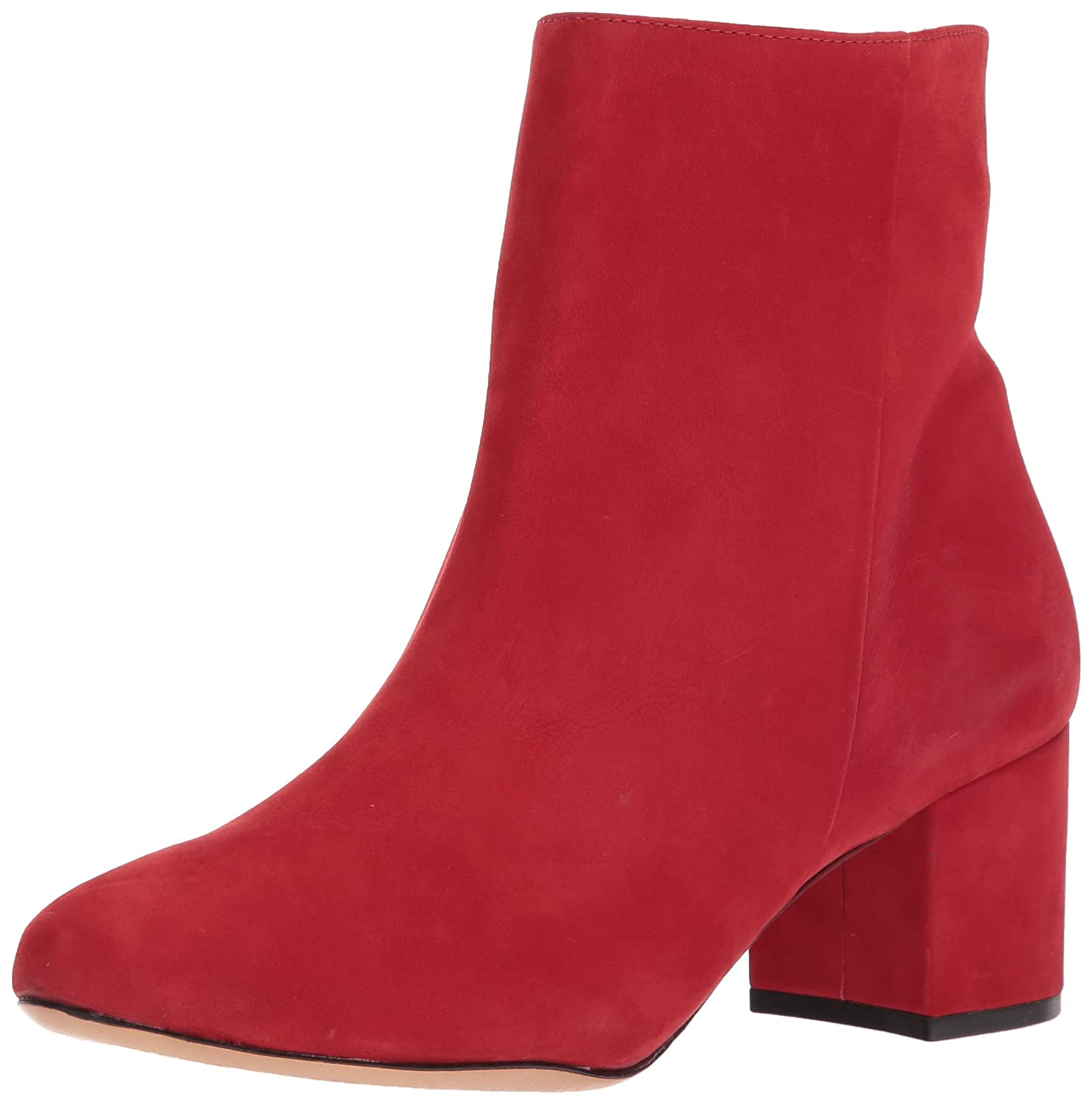 SCHUTZ Women's Lupe Ankle Boot B071DZQZTD 7.5 B(M) US|Scarlet