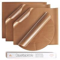 Amazy Dauerbackfolie – Das Premium Backpapier – Wiederverwendbar, antihaftbeschichtet und spülmaschinenfest, 36 x 42 cm