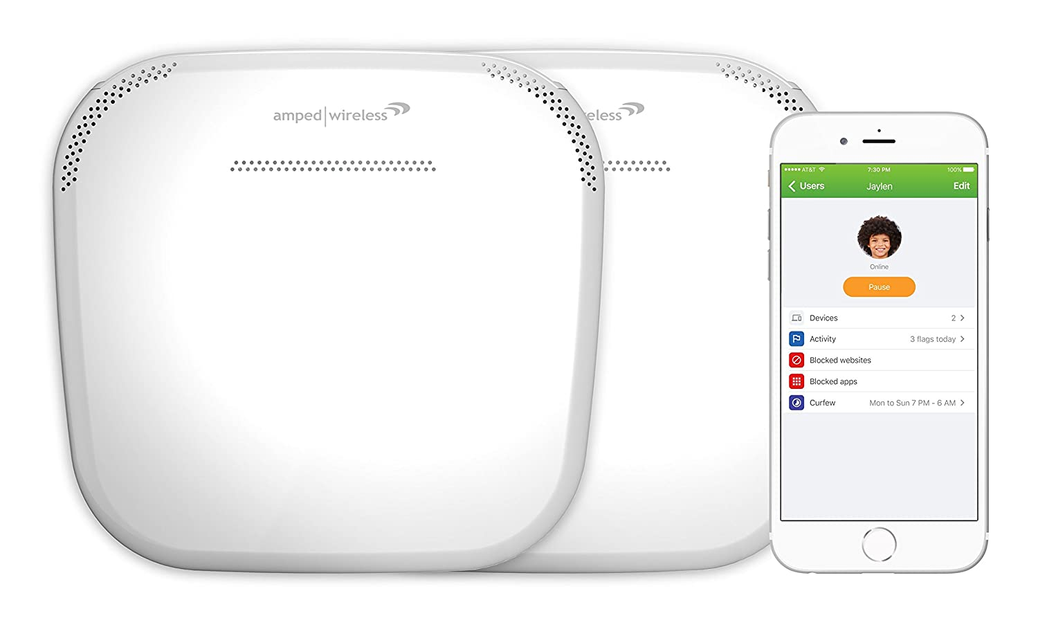 Amazon.com: Amped ALLY 0091K Wireless ALLY Plus, Whole Home Smart Wi Fi  System: Computers U0026 Accessories