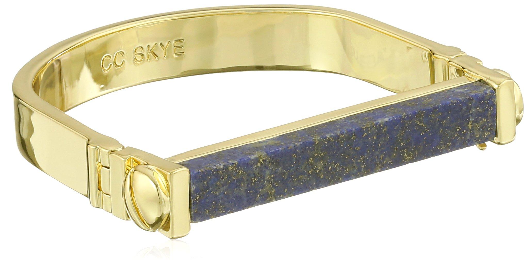 CC Skye Gold and Lapis Mesa Cuff Bracelet