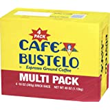 Cafe Bustelo Espresso Ground Coffe 10 oz Brick Each (4 Pack)