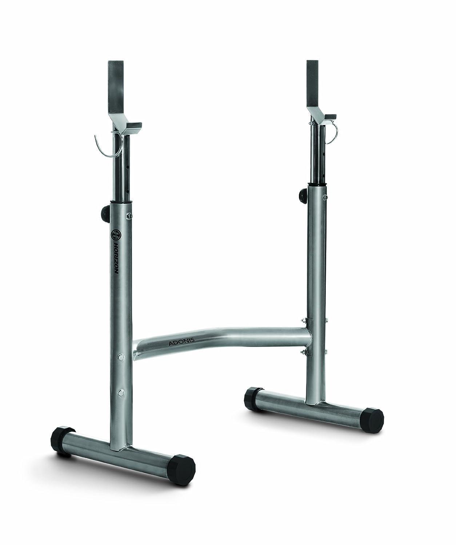 Horizon Fitness Langhantelablage Adonis, silber, 100694