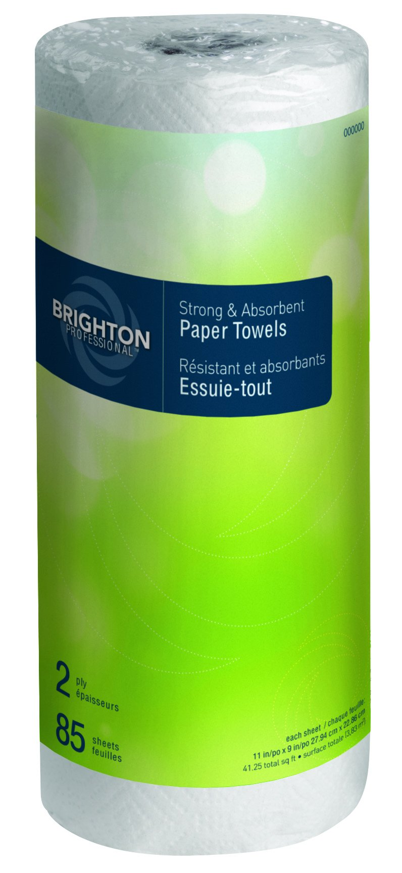 Brighton Professional Kitchen Roll Towel, 2-ply, Full Size, 85 sheets/Roll, 30 rolls/case, (21810CT)