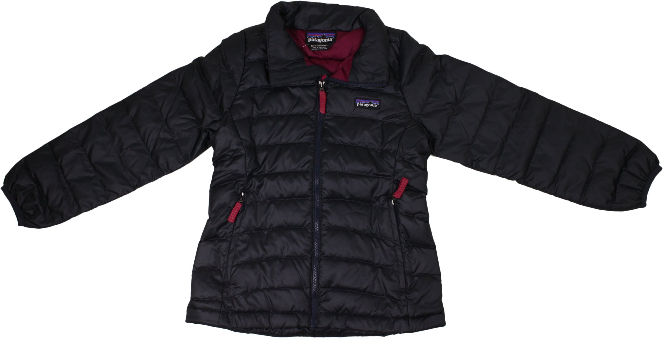 Patagonia G Down Sweater Jacket Smolder Blue Girls S by Patagonia