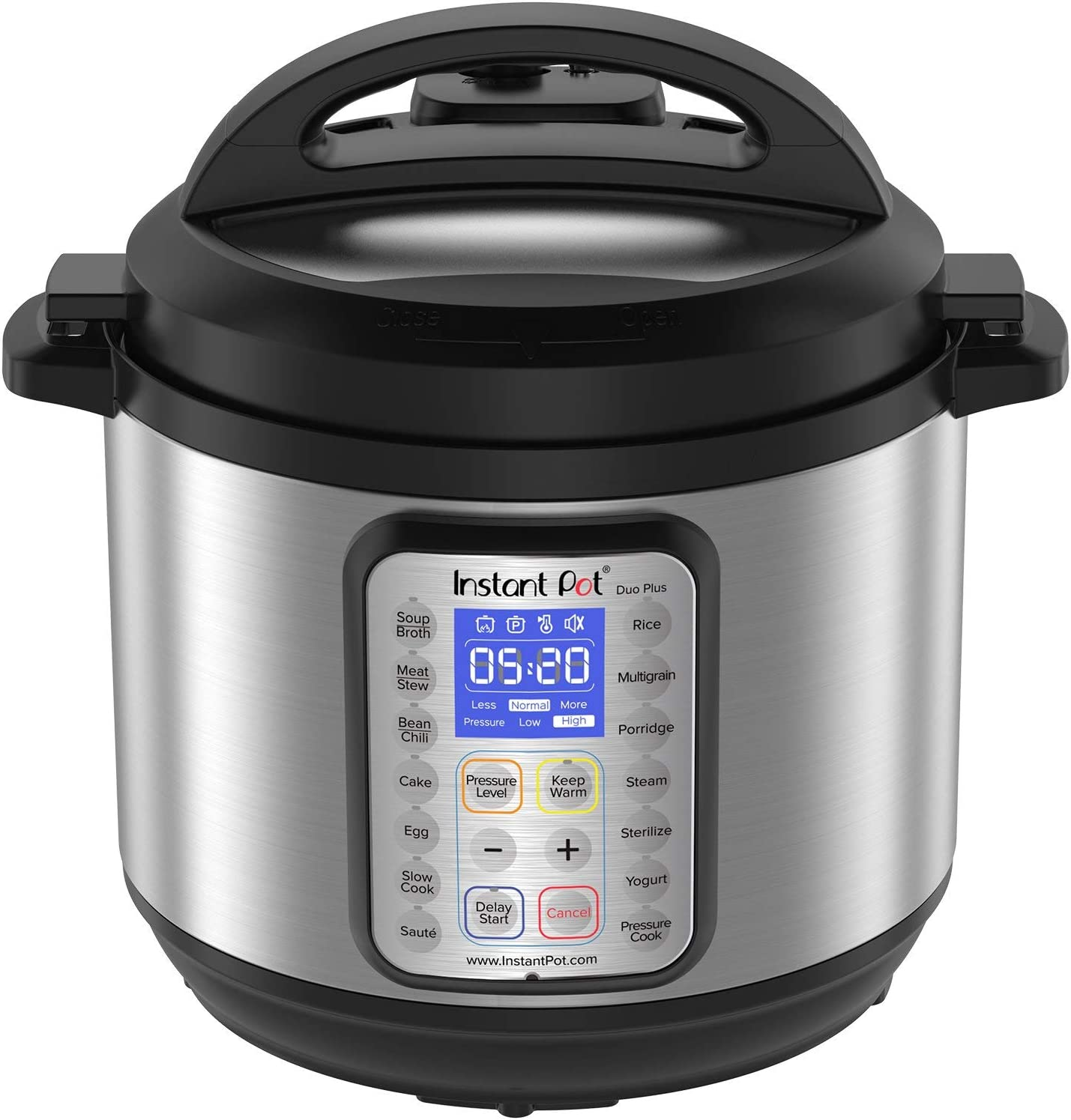 Instant Pot DUO Plus 8 Qt 9-in-1 Multi- Use Programmable Pressure Cooker, Slow Cooker, Rice Cooker, Yogurt Maker, Egg Cooker, Saut, Steamer, Warmer, and Sterilizer (Renewed)