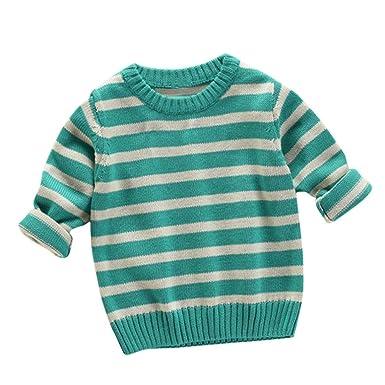 Kinder Kampf Streifen Stricken Pullover Kleinkind Mädchen Jungen ...