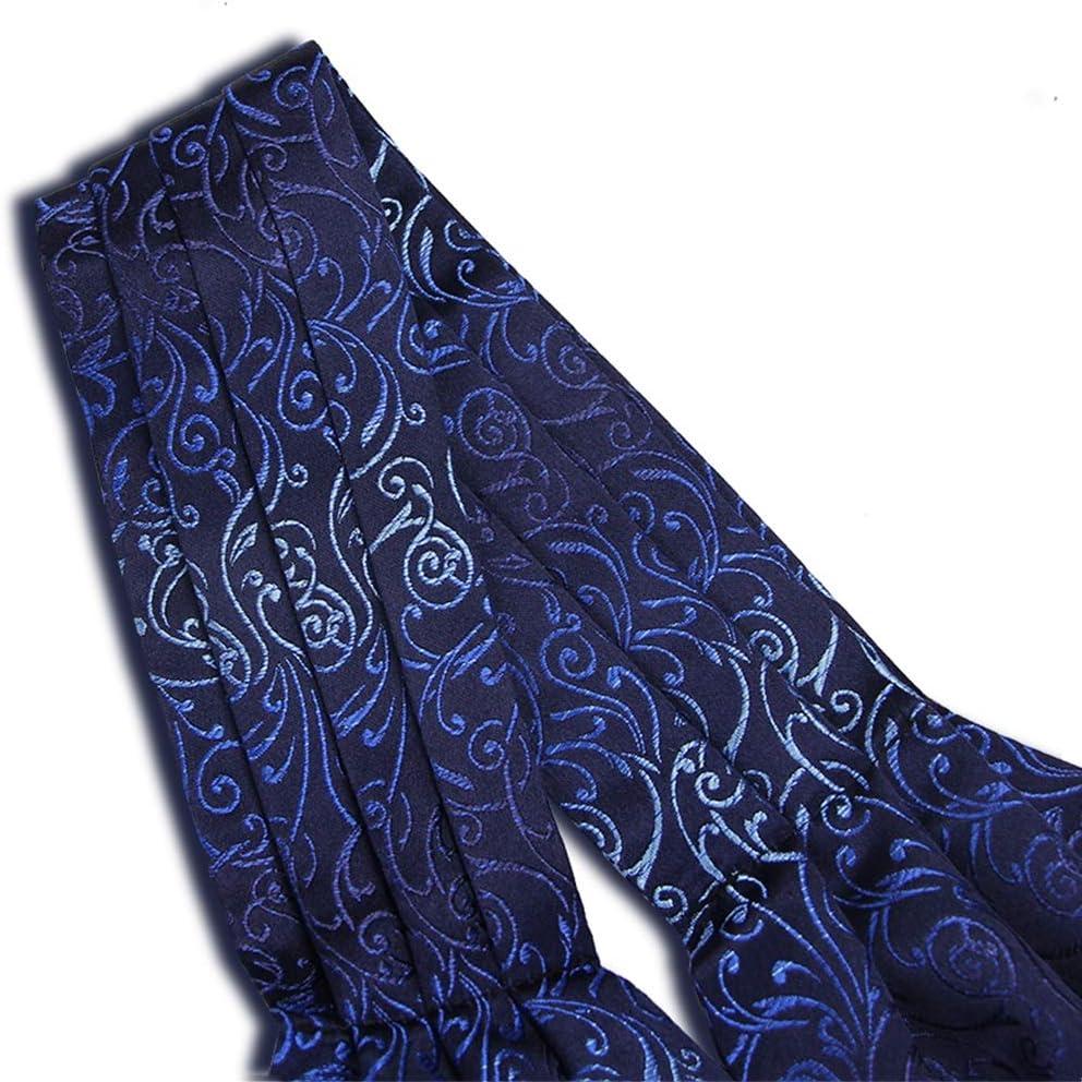 Barato Comprar LIXIONG Seda Corbata Bufanda Bordado A Mano Hombres Traje Bufanda Retro Patrón Tridimensional Mantener Caliente, 8 Estilos (Color : H) B lNTXCS oeXiI0