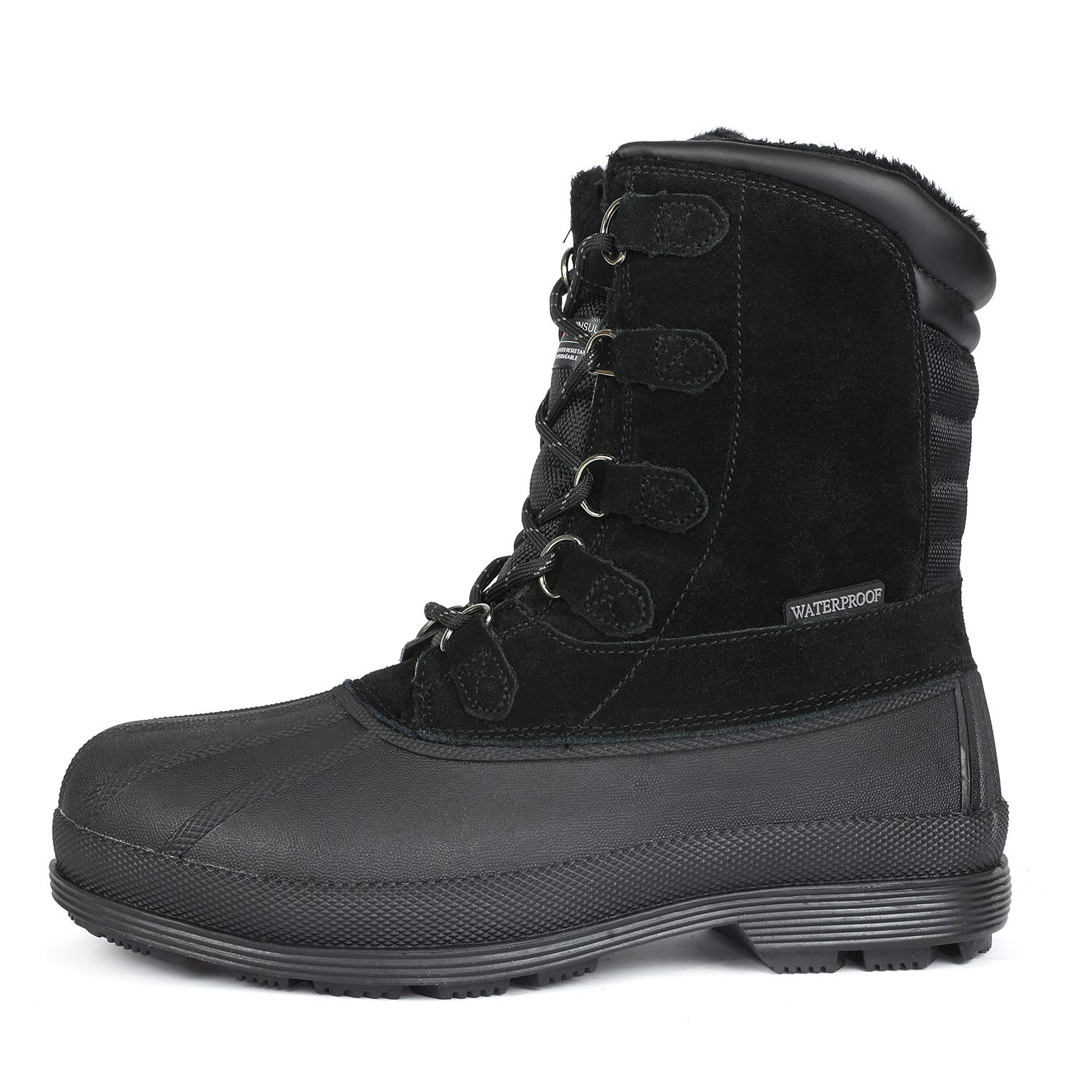 d2846601070 arctiv8 Men's 170390-M Insulated Waterproof Work Snow Boots