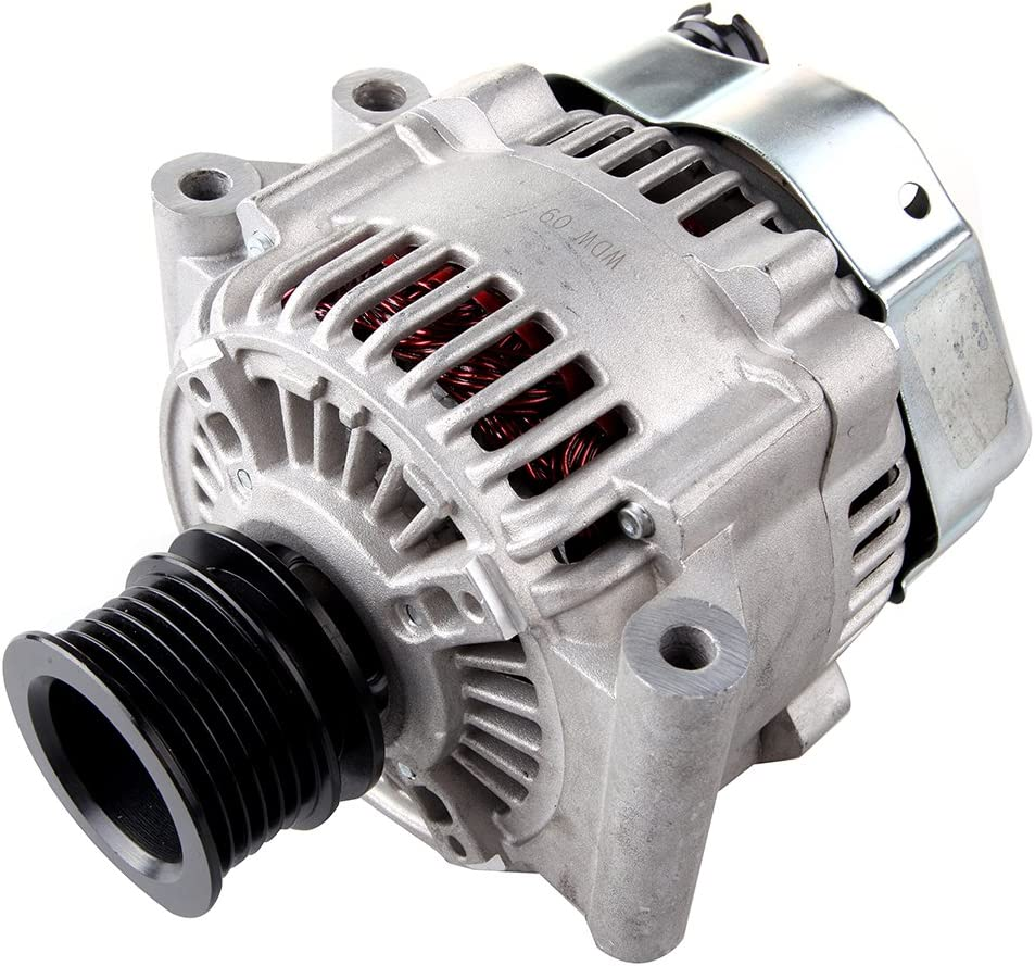 Scitoo Alternators 105A//12V 11049 fit Mini Cooper 1.6L 2002 2003 2004 2005 2006 2007 2008 2009 AND0329 6-Groove Pulley IR//IF